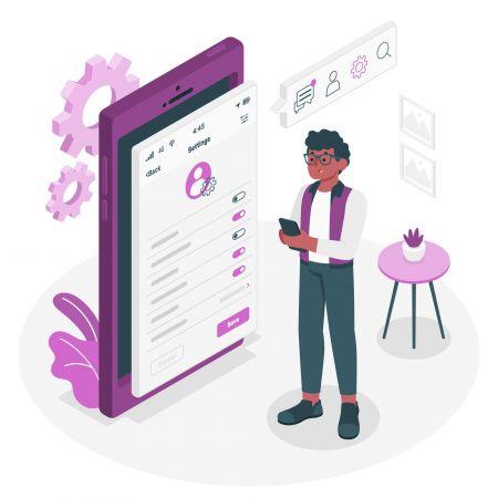 كيفية استخدام إعدادات الملف الشخصي في Pocket Option